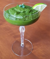 Delicious and nutritious green smoothie