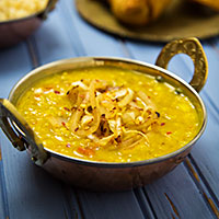 Easy Fat-Free Dal Tadka; Recipe and Photo by Susan Voisin