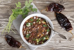 Mushroom Chili; Recipe  by Chef AJ