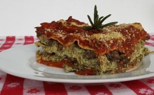 Chef AJ's Disappearing Lasagna; Recipe by Chef AJ