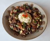Chef AJ's mushroom chili