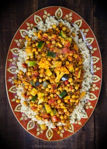 Cumin-Infused Vegetables over Quinoa; Recipe and Photo by Susan Voisin
