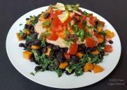 raw kale jackson plate