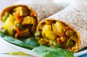 E's Samosa Wraps; Recipe and Photo created by Susan Voisin