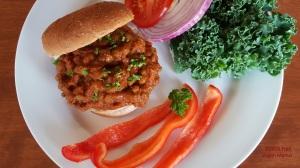 Spicy Lentil Sloppy Joes; Free Vegan Menus