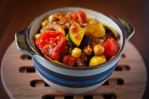 Tunisian Vegetable Ragout; Recipe and photo by Susan Voisin