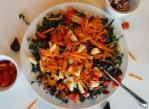 Kale, Apple and Fig Salad