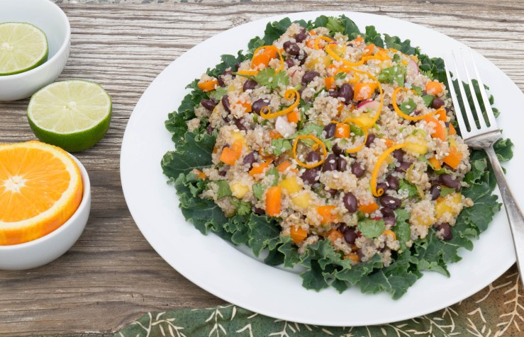 Citrusy Quinoa and Mango Salad