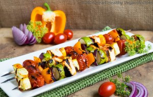 Kebabs with Barbecue Sauce-2