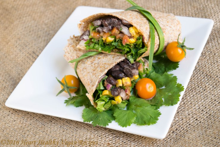Easy Summer Burrito