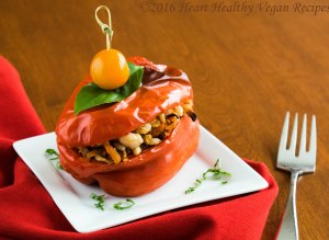 Italian-Flavored Stuffed Peppers