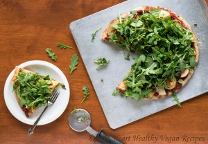 Arugula and Potato Grilled Pizza