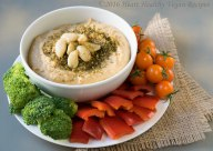 garlic-hummus