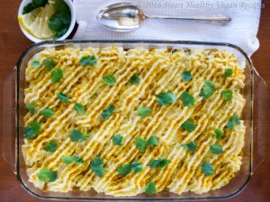 Lentil Curry Shepherd's Pie