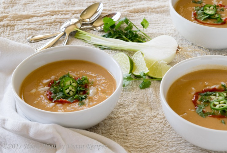 Thai Cauliflower Soup