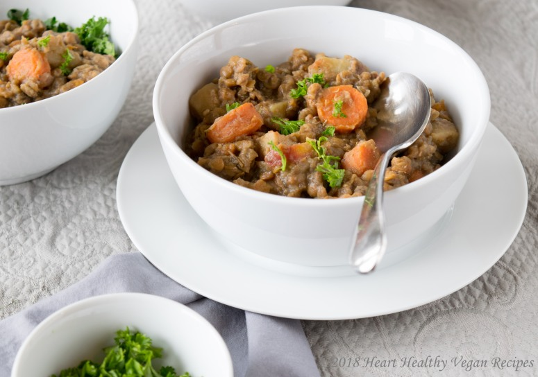 Weeknight Lentil and Potato Stew